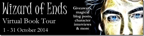 Wizard of Ends Virtual Blog Tour banner