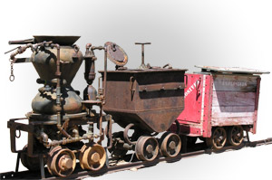 mine cart image