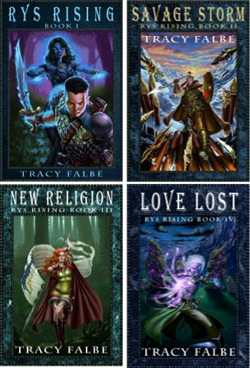 Rys Rising Series Covers