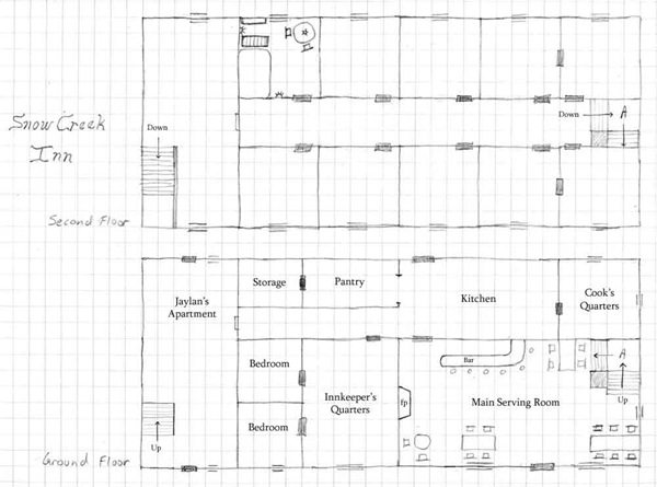 Snow Creek Inn Floor Plan
